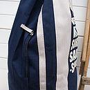 Personalised Sports Or Beach Duffle Bag