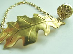 Oak Leaf Bracelet - women's jewellery