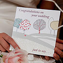 'Congratulations On Your Wedding' Card