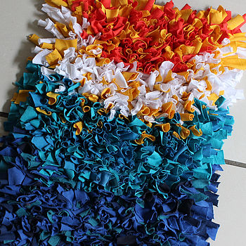Upcycled Rag Rug
