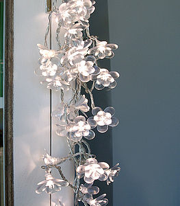 Flower Light Garland - parties