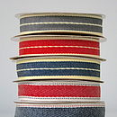 Denim Grosgrain Ribbon
