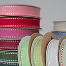 Stitched Grosgrain Ribbon Roll