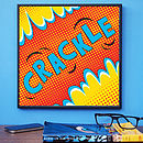 'Crackle' Pop Art Print