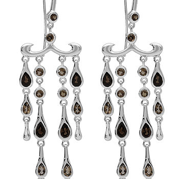 Modern Vintage Style Chandelier Earrings