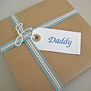 'Daddy' Gift Tag