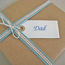 'Dad' Gift Tag