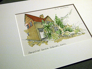 Personalised House Illustration - art & pictures