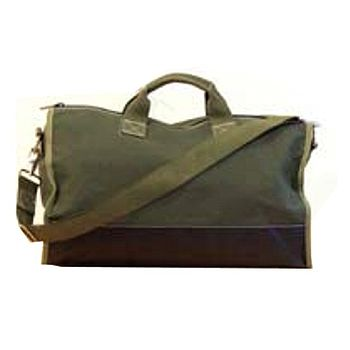 Large Canvas Weekend Bag- Olive