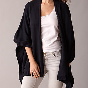 Cotton Cashmere Wrap - the cashmere edit
