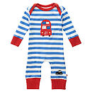 Thumb london bus playsuit