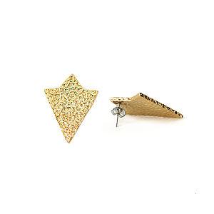 ArrowTriangle Earrings - winter sale