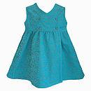 Organic Cotton Needlecord Baby Dress