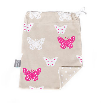 Butterfly Changing Pouch
