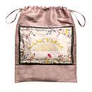 Hydrangea Print Silk Satin Cristobel Dress