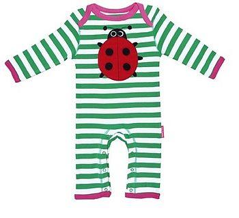 Baby Organic Ladybird Playsuit