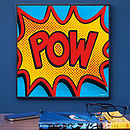 Pow Pop Art Print
