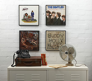 Vinyl Record Frame - gifts for men