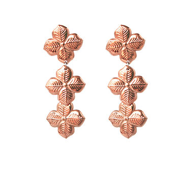 Hyacinth Floral Earrings