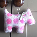Personalised Wool Dog Decoration