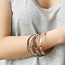 Knotted Bangle