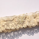 Vintage Lace Wedding Garter