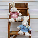 Personalised Bunny Rabbit Gift