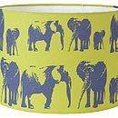 Elephant Family Lampshade