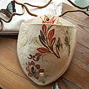 Botanical Design Stoneware Planter Pocket