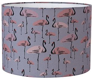 Flamingo Party Lampshade - children's room