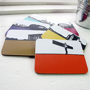 Tyne And Wear Coasters - placemats & coasters