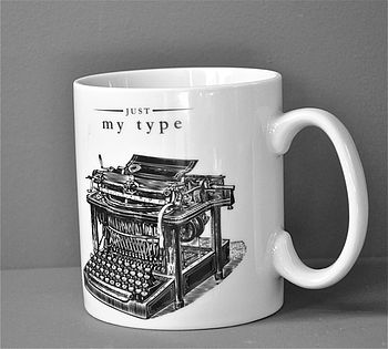'Just My Type' Mug