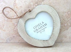 Distressed Heart Photo Frame - picture frames