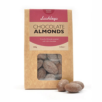 Mother's Day Gift Milk Chocolate Almonds