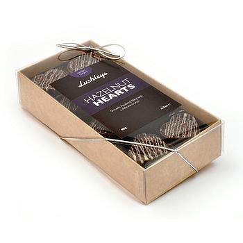 Box Of Chocolate Hazelnut Hearts