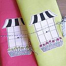 Clifton Window Tea Towel