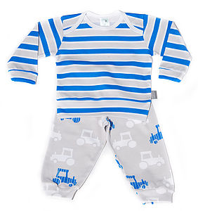 15% Off Printed Tractor Pyjamas