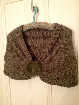 Olive Green Soft Shoulder Wrap