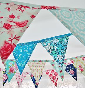 Handmade Mini Bunting - children's parties