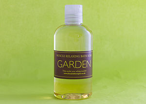Gardener's Treat Muscle Relaxing Bath Soak - bathroom