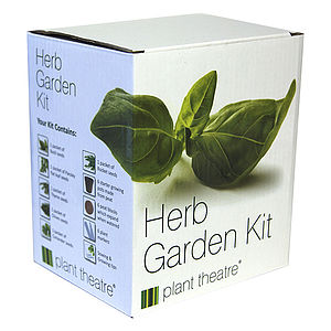 Herb Garden Kit Gift Box - gardener