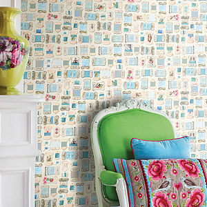 Yarn Collection Wallpaper - home decorating