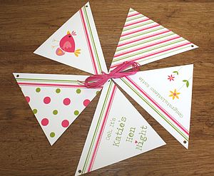 Hen Night Bunting - hen party gifts & styling