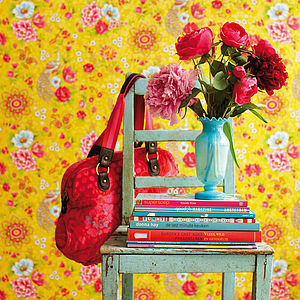 Flowers In The Mix Wallpaper By PiP Studio