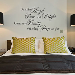 Wall Quote Sticker For Bedroom
