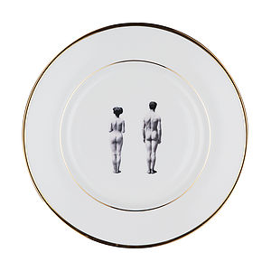 The Models Bone China Plate - dining room