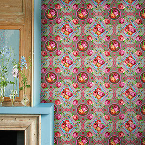 Singing Roses Wallpaper By PiP Studio - dining room