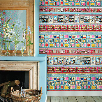 Haberdashery Wallpaper