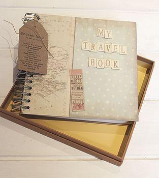 Travel Memory Book