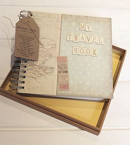 Travel Memory Book - stationery
